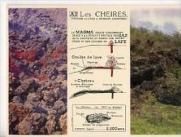 CP63743 - LES CHEIRES - Coulées De Lave à Surface Chaotique - Frankreich