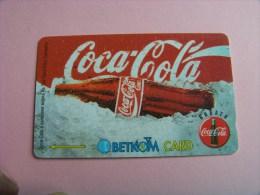 "Bulgarien    Telefonkarte    "" Coca - Cola ""  Gebraucht     ( B - 2 ) - Bulgarien"