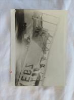 PHOTO D UN BIPLAN AVEC COMME INDICATION SOUVENIR D ALICANTE FEVRIER 1924 - Aviation