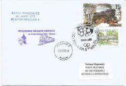 Poland 2014, Special Train Post In 700 Anniversary Of Wine Industry In Zielona Gora, Grape Picking. Locomotive. - Vini E Alcolici