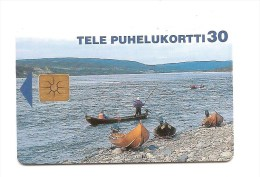 FINLAND - Boats/Bateaux - 01.98 50.000