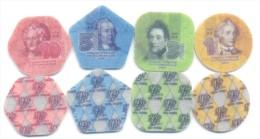 2014. Transnistria, Set Of 4 Coins (1,3,5,10 Rub), UNC - Moldavie