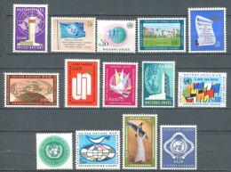133 NATIONS UNIES 1969/70 - Geneve (Yvert GE 1/14) - Neuf ** (MNH) Sans Trace De Charniere - Ginebra - Oficina De Las Naciones Unidas