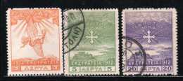 GREECE 1912 SCOTT M 153,154,156 STAMPS MH SCOTT VALUE US $5.00 - Griekenland