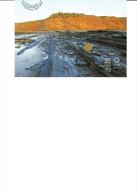 Carte entier postale neuve Port Pay� de CANADA - Falaises fossilif�res de Joggins - site mondial UNESCO
