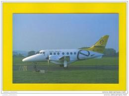 ..... Postcard AIRPLANE Jestream EURODIRECT UK Aircrafts - 1946-....: Moderne