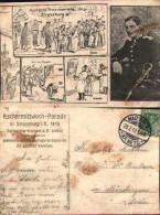 Militaria Allemagne - 16 Aschermittwoch-parade In Strassburg I E 1913 - Militari