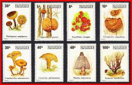 ZAIRE 1979 WILD & FOREST MUSHROOMS MNH (DEL01) - Funghi