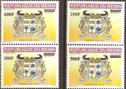 bn1473~76 Benin 2009 OVPT Cow