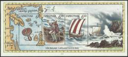 Faroe Islands - 2002 Viking Voyages S/sheet MNH **   SG MS429   Sc 413 - Islas Faeroes