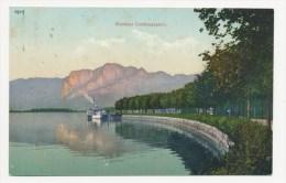 Mondsee, Landungsplatz, Aus 1909, Stempel Thalgau - Mondsee