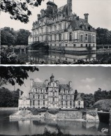 [27] Eure> Beaumesnil Lot De 2 Cartes Le Chateau - Beaumesnil