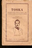 Latvia Old Book Dzhakomo Puchini MUSICAL Operetta DRAMA TOSKA 64 Pages - Publisher J. Roze Riga - Theatre