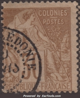 25c Alphée Dubois Oblitéré Nouvelle-Calédonie Nouméa TB (cote Dallay 85€) - New Caledonia