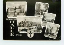 HALLE (Saale) - Carte Multivues. - Halle (Saale)