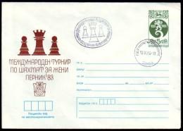 Schaken Schach Chess ajedrez �checs - Bulgarie Bulgaria - Pernik 1983