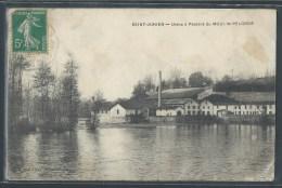 - CPA 87 - Saint Junien, Usine � Papiers du Moulin-Pelgros