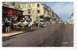 39827-ZE-62-MERLIMONT-L' Avenue De La Plage---------------animée-commerces - Andere Gemeenten