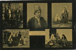 Types From Bethlehem 280  Multi View Jewish Narguileh Judaica Edit Sarrafian Beirut Syria Lebanon - Palestine