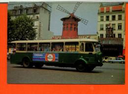 """Bus - Autocars - Autobus Parisien - Moulin Rouge -Collection """"chic Et Choc"""" - Photo Delvallée RATP - Bus & Autocars"""