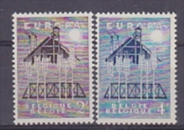 Europa Cept 1957 Belgium 2v ** Mnh (T1249) - Europa-CEPT