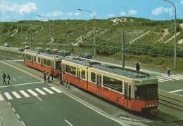 CPSM KUSTTRAM TRAMWAY LE LONG DE LA COTE TRAM ( BREDENE ) - Bredene