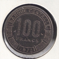 TCHAD 100 FRANCS 1972 ANIMAL - Chad