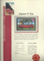 Telefoonkaart Jaguar E Type Uitgave Telefonica Gode Not Used - Autos