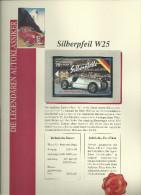 Telefoonkaart Mercedes Benz Silberpheil W25 Die Renniegende Uitgave Telefonica Gode Not Used - Autos