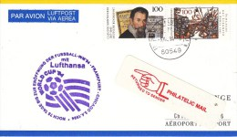 FUSSBALL-FOOTBALL-SOCCER- CALCIO, GERMANY, 1994, AIR MAIL / Special Cancellation !! - World Cup