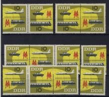 Lot DDR ZD Michel No. 976 - 977 /  W Zd 94 - 97 ** postfrisch