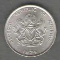 NIGERIA 5 KOBO 1974 - Nigeria