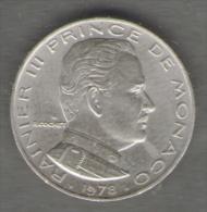 MONACO 1/2 FR 1978 - Monaco