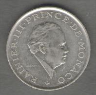 MONACO 2 FRANCS 1981 - 1960-2001 Francos Nuevos