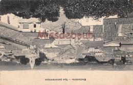 17 - MONTENDRE  -  Vue Panoramique - Dos Vierge  -  2 Scans - Montendre
