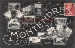 17 - MONTENDRE  -  Souvenir - Multivues  -  2 Scans - Montendre