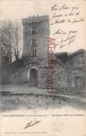 17 - MONTENDRE  -  Ancienne Tour Du Chateau  -  2 Scans - Montendre