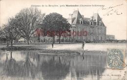 17 - MONTENDRE  -  Chateau De La Bruyere  -  2 Scans - Montendre