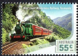 Australia 2010 Railway Journeys - Trains 55c Wilderness, Tasmania  MNH - Nuevos