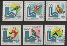 GUINEA - BISSAU 1979 Olympic Winter Games Lake Placid - Winter 1932: Lake Placid