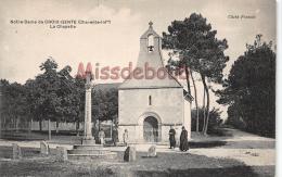 17 - MONTENDRE - Notre Dame De La Croix Gente - La Chapelle   - Dos Vierge 2 Scans - Montendre
