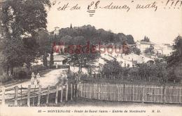 17 - MONTENDRE - Route De Saint Savin - Entrée De  - 2 Scans - Montendre