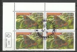 ANDORRA- CORREO FRANCES  BLOQUE DE 4 SELLOS O SIMILAR MATASELLADOS  PITAVOLA  2014 (.C.09.14) - Used Stamps