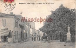 17 - MONTENDRE - Avenue Des Brouillauds    - 2 Scans - Montendre