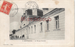 17 - MONTENDRE -  Groupe Scolaire      - 2 Scans - Montendre