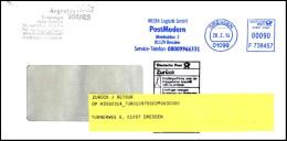 Bund / Germany: Stempel ´Post Modern - Rücksendung, 2014´ / Cancel ´Retour´, 01099 Dresden XI - BRD