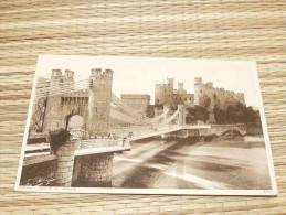 Conway Castle & Bridge, Wales, United Kingdom