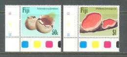 1984 FIJI FUNGI MUSHROOMS MICHEL: 497-498 MNH ** - Fiji (1970-...)