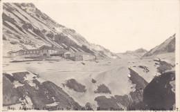 RP: Rep. Argentina. Cordillera De Los Andes, Hotel Puente Inea. Col. Fajardo , 00-10s - Argentina