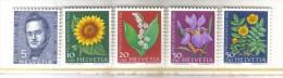 W562 - SVIZZERA 1961 , Serie 684/687 Pro Juventute  ***  MNH - Svizzera